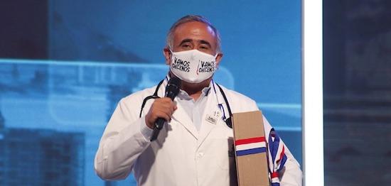 [VIDEOS] CAMPAÑA VAMOS CHILENOS: REVISA LO QUE DIJERON FRANCISCO REYES Y EL DOCTOR SEBASTIAN UGARTE